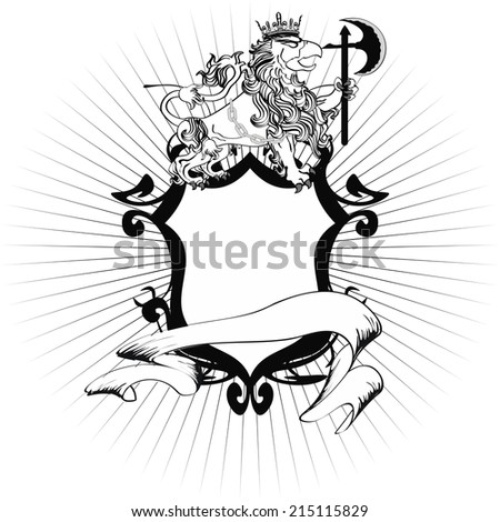 gryphon tattoo tshirt isolated sticker in vector format very easy to edit - stock vector