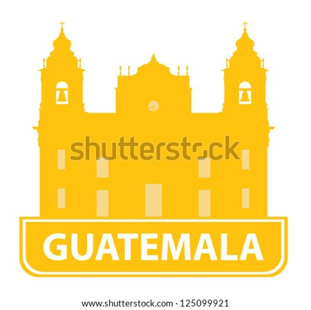 Guatemala symbol - stock vector