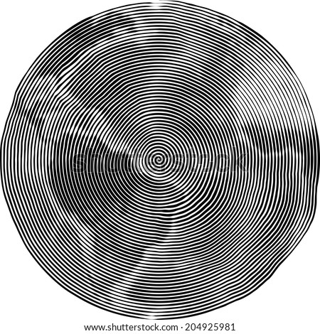 Guilloche Vector Illustration of Earth - stock vector