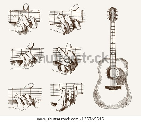 Guitar guitar chords in spanish : Guitar Chords Stock Photos, Royalty-Free Images & Vectors ...