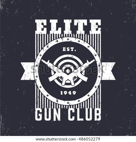 Gun Logo Stock Images Royalty Free Images Vectors