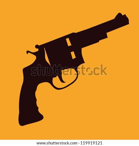 gun style - stock vector
