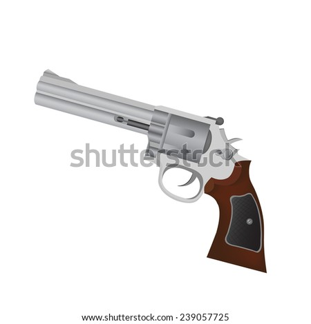 gun ,Vector  - stock vector