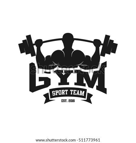 Gym Logo Fitness Logo Stock Vector 511774024 - Shutterstock