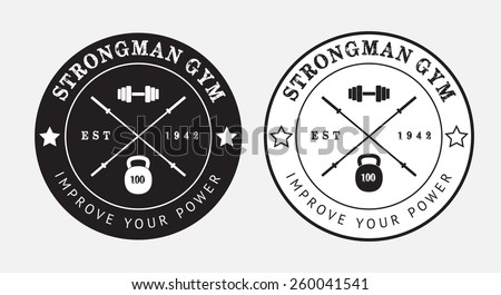 Gym Logo Stock Images, Royalty-Free Images & Vectors   Shutterstock