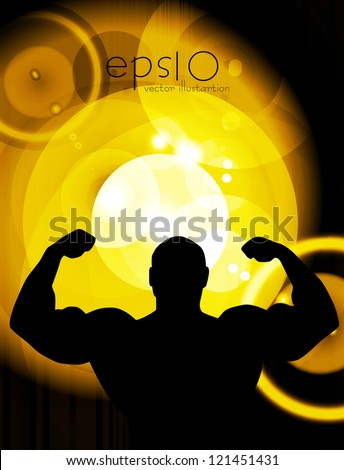 Gym vector illustration - stock vector