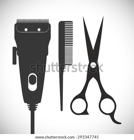 Hair Salon digital design, vector illustration eps 10. - stock vector