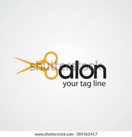 Hair Salon LogoCosmetic Logo Design
