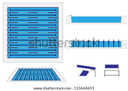 Swimming lane stock photos images pictures shutterstock for Show java pool size