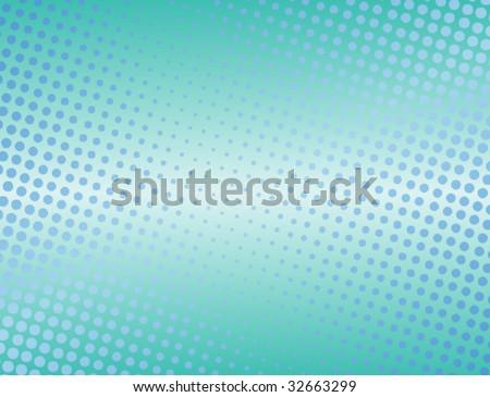Halftone background - stock vector