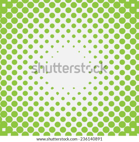 Halftone background for concept design - stock vector