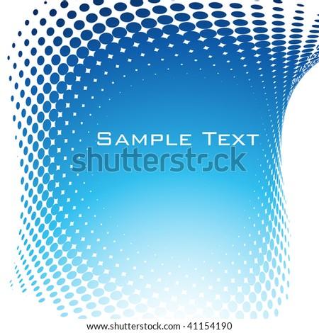 Halftone background. Vector. - stock vector