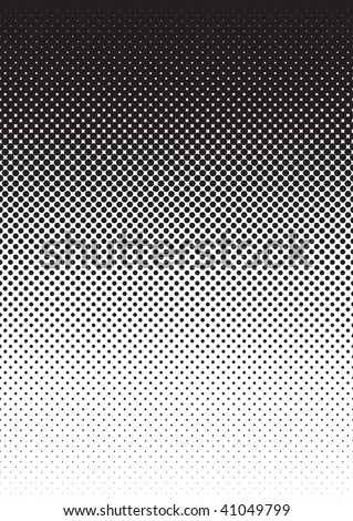 halftone pattern swatch background - stock vector
