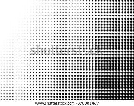 Halftone pattern vector - stock vector