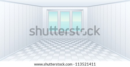 Hall - stock vector