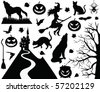 Halloween collection. - stock vector