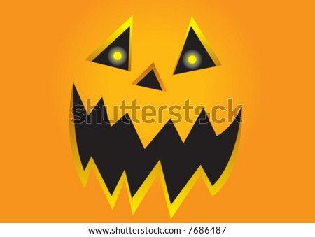 Halloween Jack - stock vector
