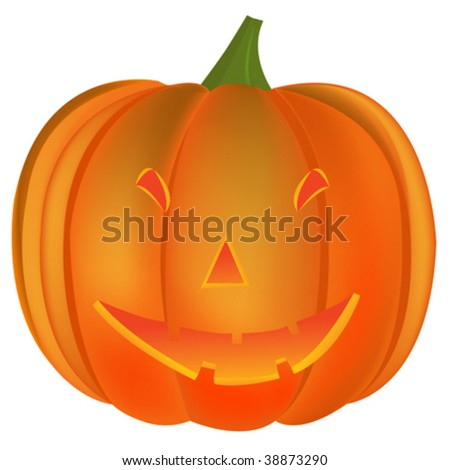 halloween pumpkin vector art illustration more stock vector