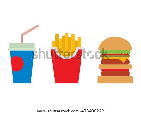Hamburger fast food and coke drink tasty grilled american dinner. Hamburger classic cuisine gourmet fast food. Fast food and coke