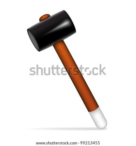 Hammer - stock vector