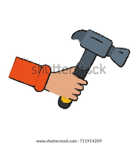 hammer tool icon image