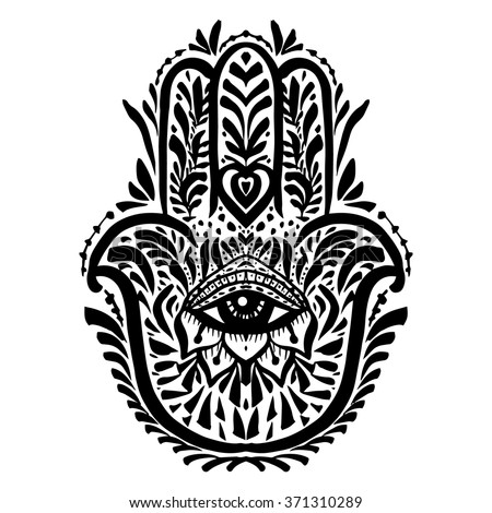 Palm With Eye Symbol