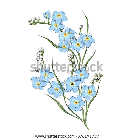 Hand draw flower vector illustration stock vector 409521046 hand draw of flower vector illustration ccuart Image collections