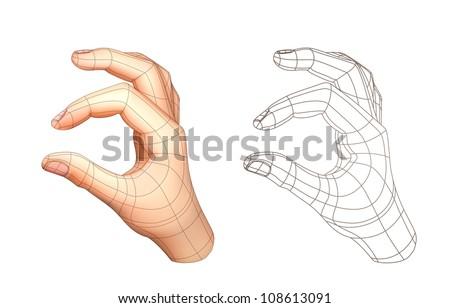 Hand drawing, vector - stock vector