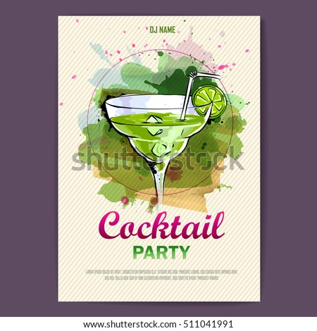 Margarita Poster Stock Images, Royalty-Free Images & Vectors ...
