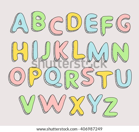 Baby Alphabet Stock Images, Royalty-Free Images & Vectors ...