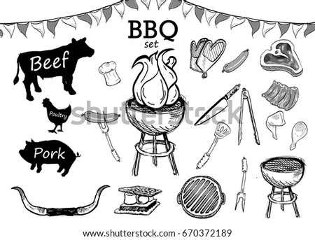 Viewtopic together with Grill Vectors Page 7 as well Vector Bbq Seamless Pattern Background Farm 306550496 also Set Meat Symbols Beef Pork Chicken 271965251 moreover Beantowns Finest. on cookout restaurant menu