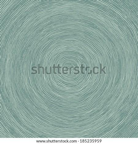 hand drawn brush circles - stock vector