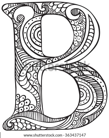 capital a coloring pages - photo#34