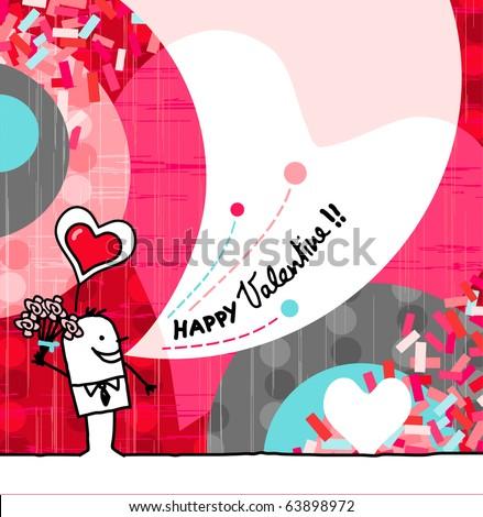 Bugs Bunny SpanishLanguage Valentines Day Card