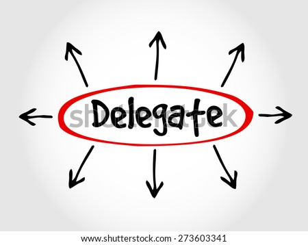 concept of delegation Accountability and delegation explained chris mullen, independent consultant and coach,  an understanding of the concept of 'safe delegation',.