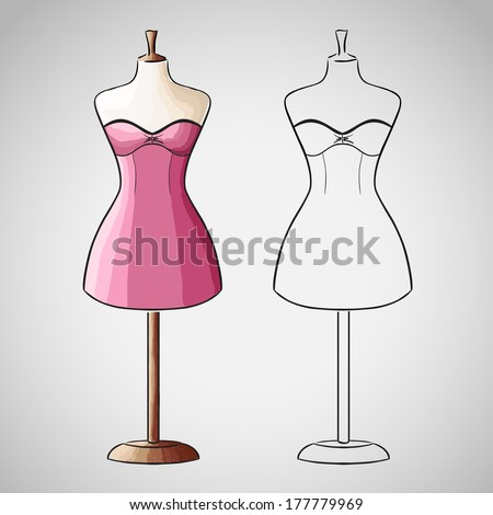 Dressform Stock Images Royalty Free Images Amp Vectors