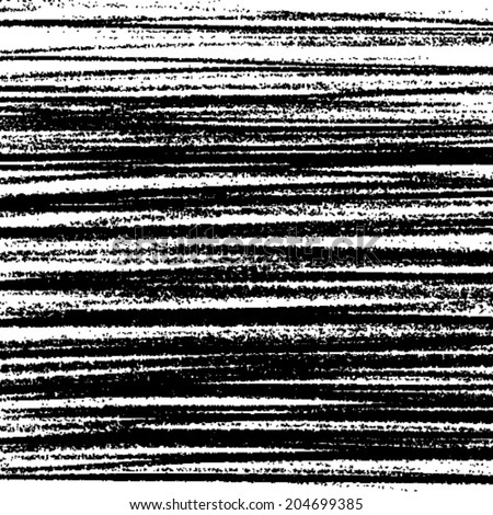 Hand Drawn Grunge Stripe Background. Vector illustration.  - stock vector
