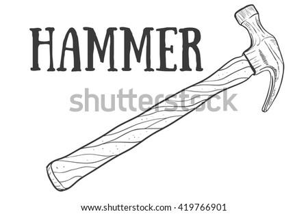 Carpenter Hammer Stock Images Royalty-Free Images U0026 Vectors | Shutterstock