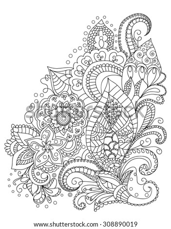 Henna animal coloring pages for adults pictures to pin on for Henna coloring pages