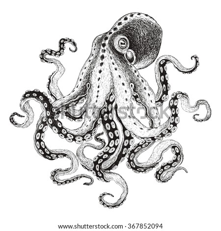 how to draw dr octopus