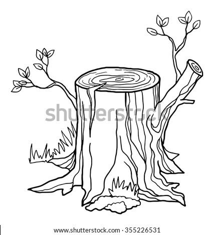 A Tree Stump by stella-luna12 on DeviantArt