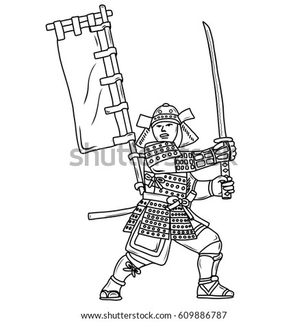Amazing Japanese Samurai Coloring Pages Inspiration - Coloring Page ...
