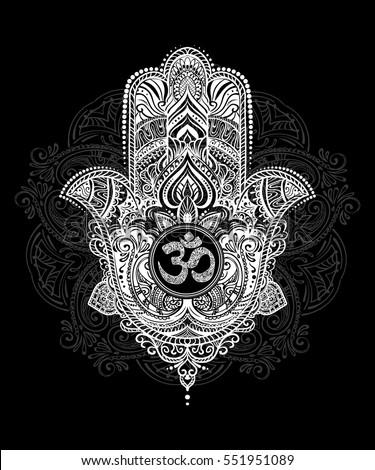 Hand Of Fatima Background