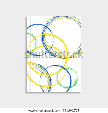 Hand drawn Rio 2016 olympic games banner. XXXI 31 st Olympic games event in Brazil from 5 th august till 21 st august 2016. Vector flat design illustration clip art graphic design - stock vector