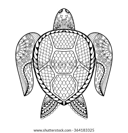 tribal animal coloring pages - photo#23