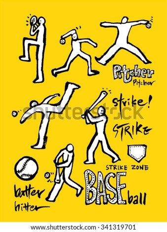 Hand drawn Sports & recreation illustration - vector