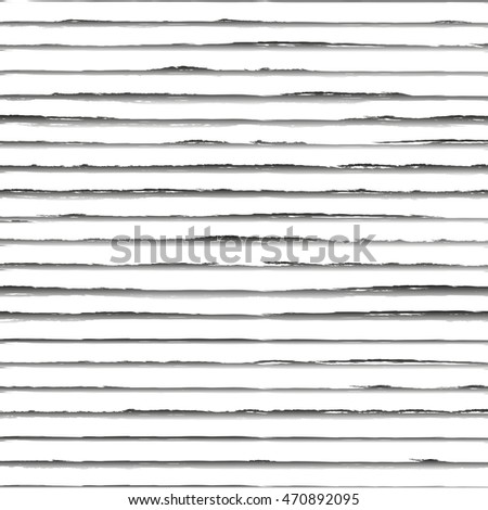 Hand drawn striped background. Vector Illustration.