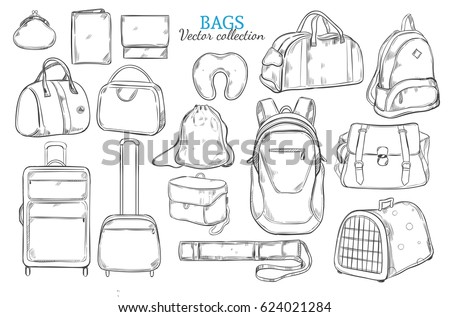 How to draw a sleeping bag