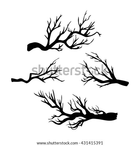 tree branch silhouette stock images royaltyfree images