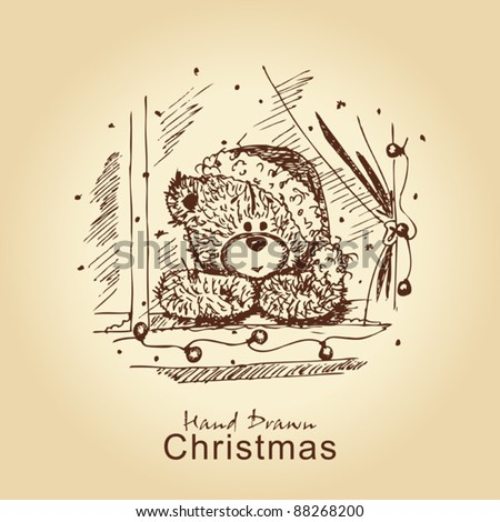 Christmas Card Drawing Designs Images amp Pictures Becuo